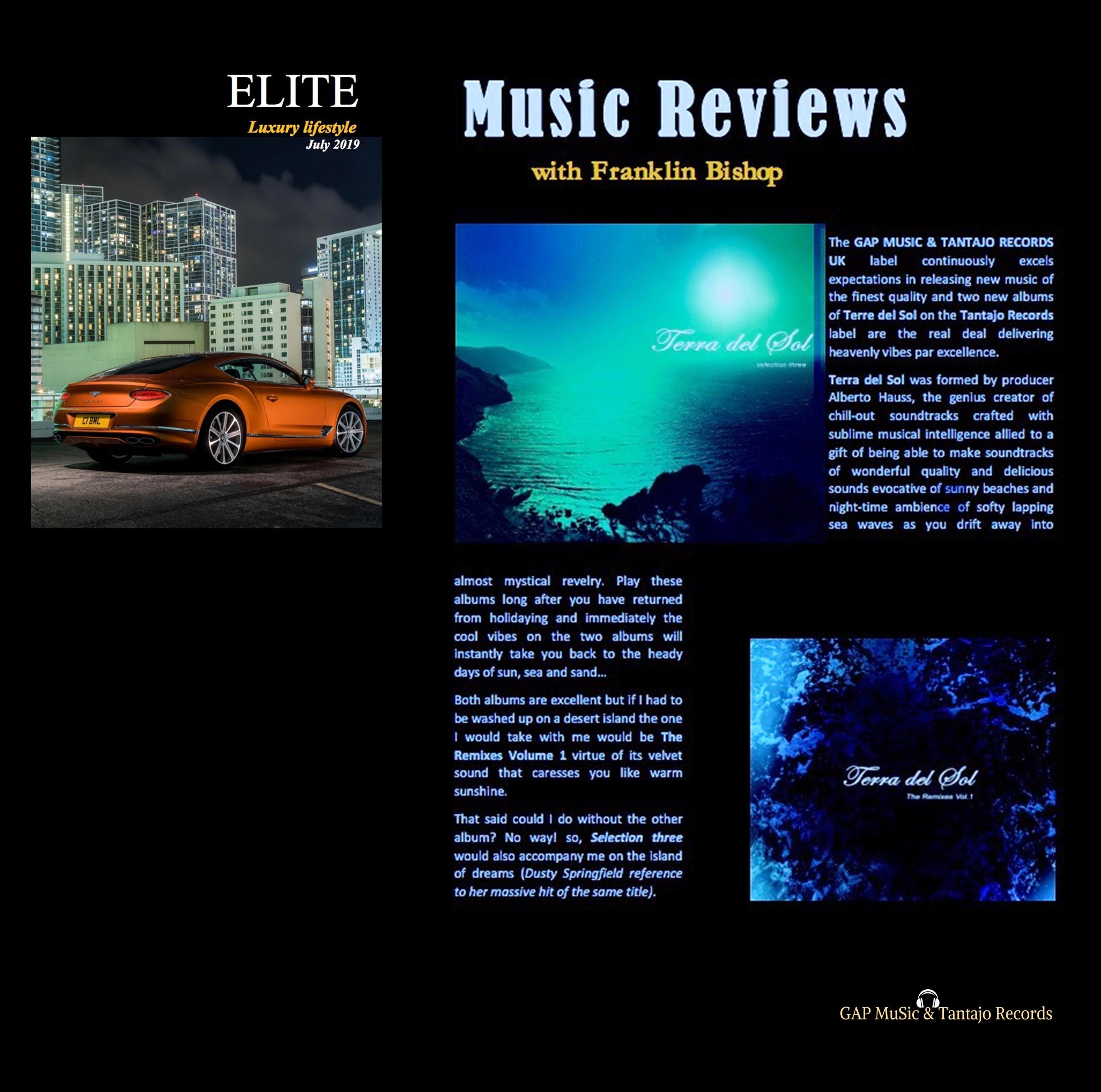 Elite Lifestyle Magazine - July 2019....