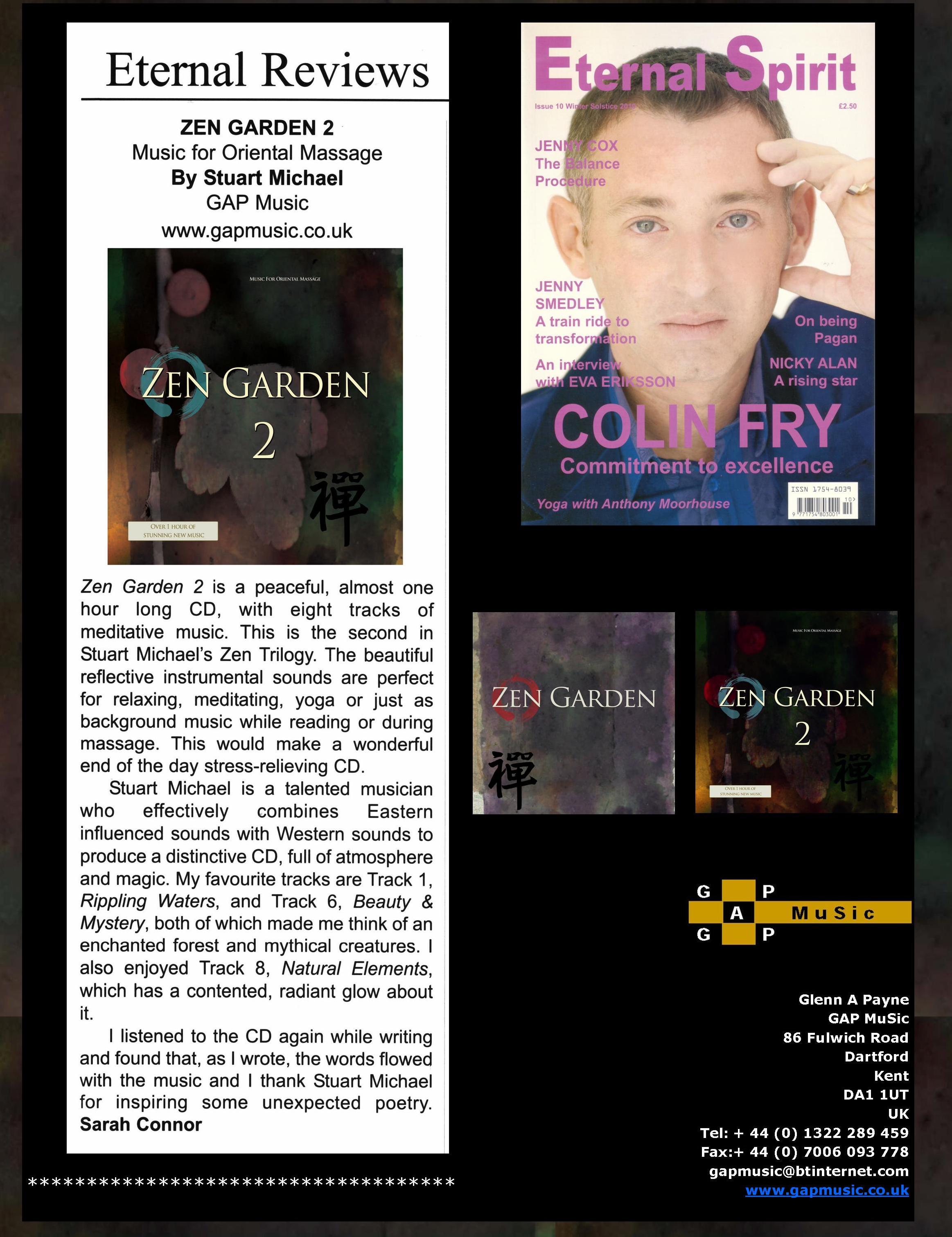 Zen Garden 2 - Eternal Spirit Magazine Magazine
