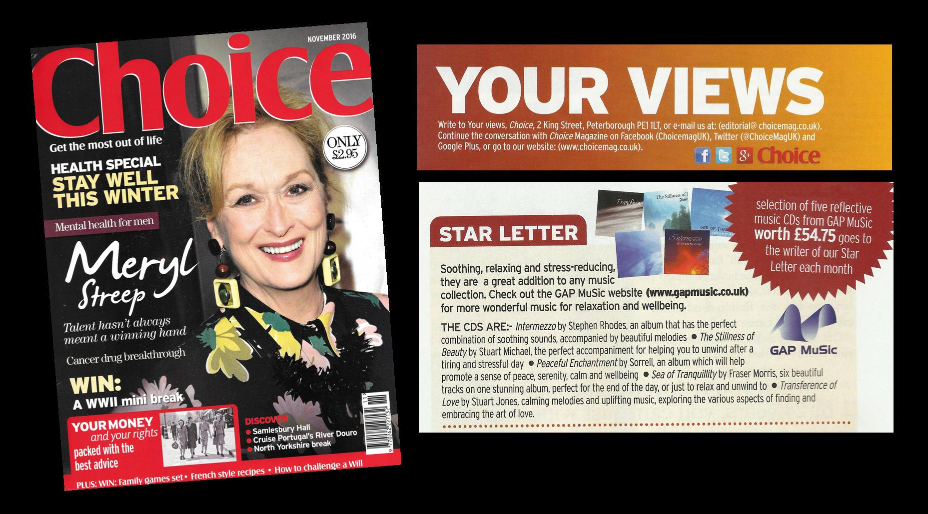 Choice Magazine - Various Releases