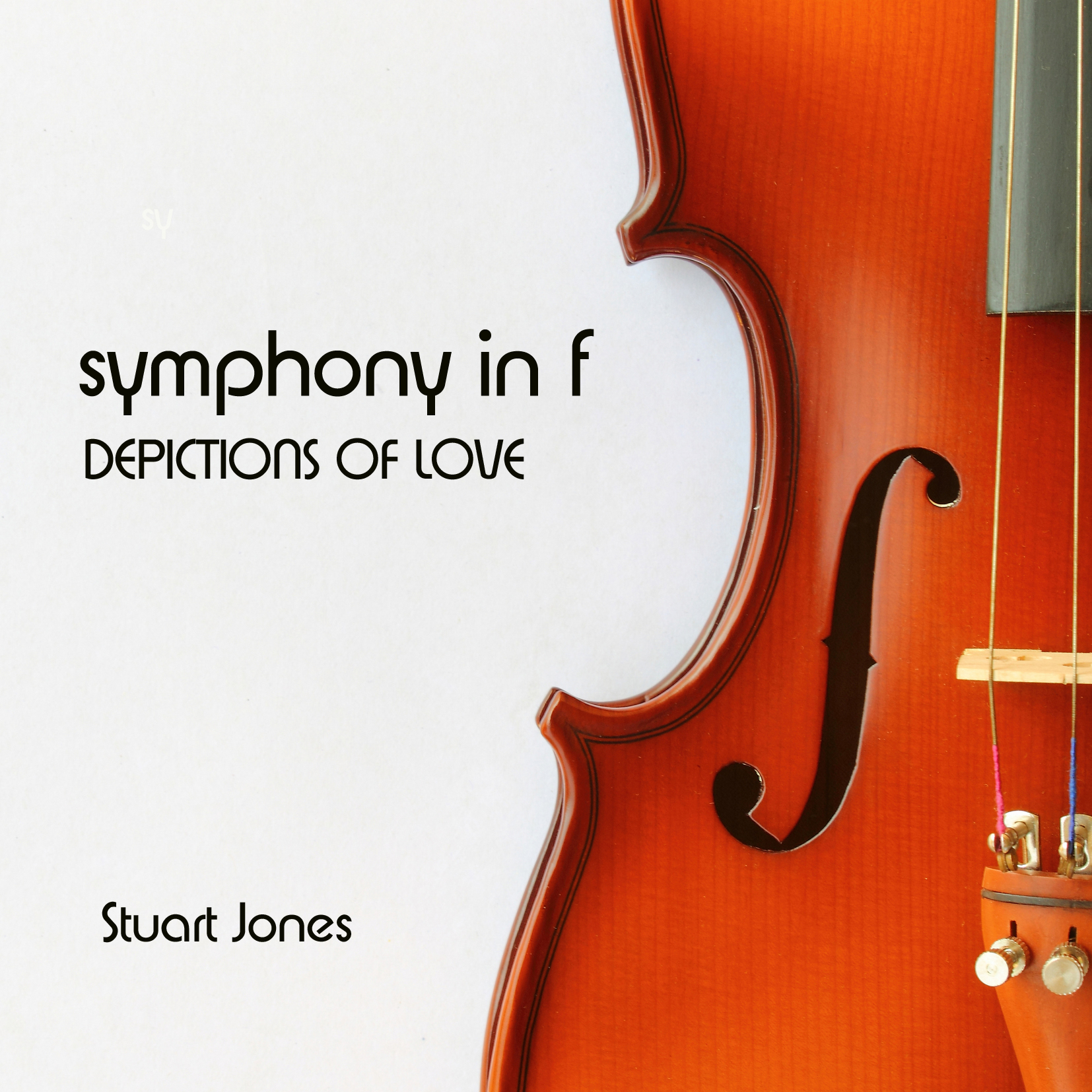 Symphony in f by Stuart Jones