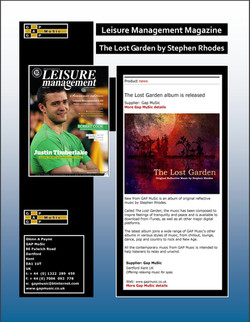 The Lost Garden - Leisure Management Magazine