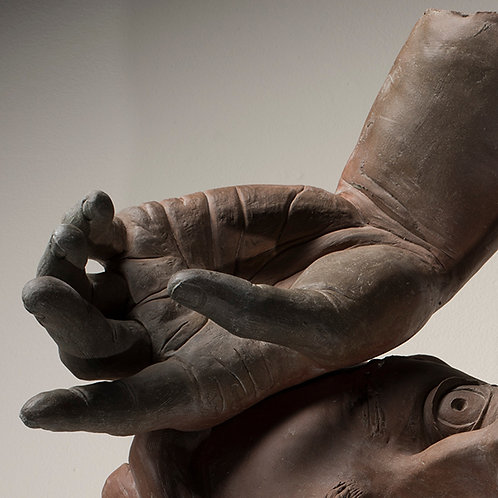 Sculpting Hands in Clay  -  Tuesday 6-9pm: Dec 1-15