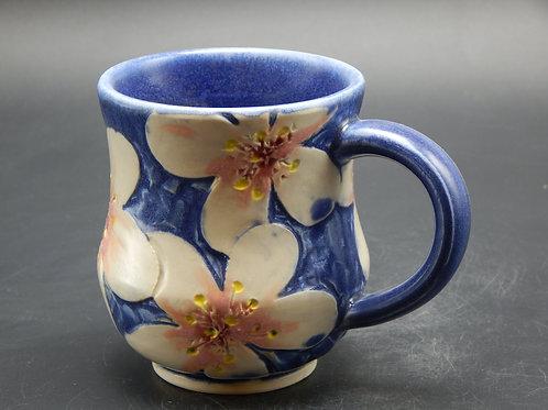 Adelheid West -Blue Cherry Blossom Mug (AEW-039)