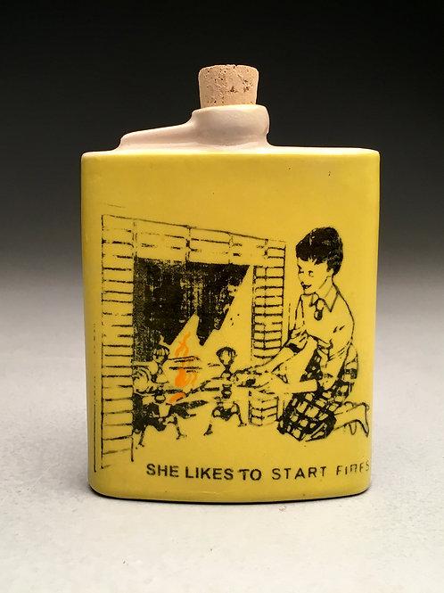 Shalene Valenzuela - Starting Fires Flask (SV-14)