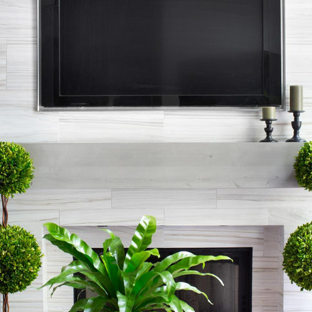 Installing a TV Above the Fireplace