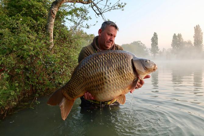 Max Landed new lake record common at 58.08