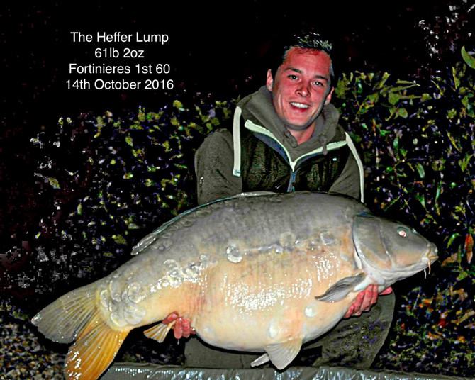 Fortinieres 1st 60b Carp The Heffer Lump