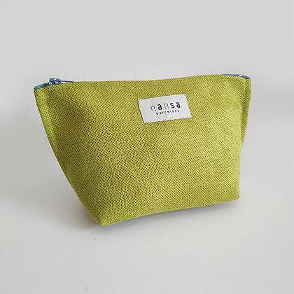 Estuche (verde lima_crem 20 cm)