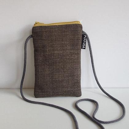Funda para móvil (gris, crem. amarilla)