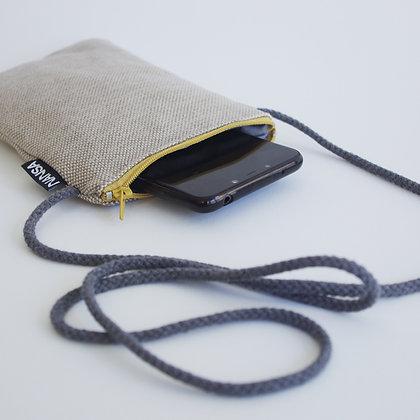 Funda de móvil (arena-crem. amarillo)