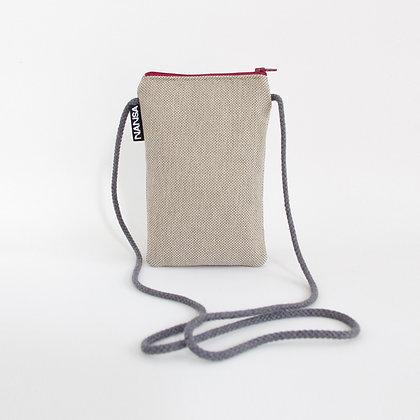 Funda de móvil (arena-crem. roja)