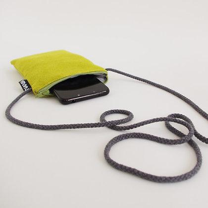 Funda de móvil (verde lima.-crem. verde)