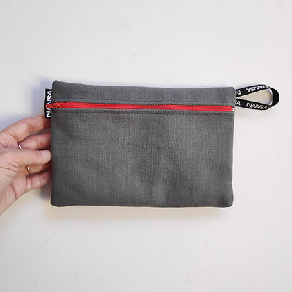 Estuche (gris+rojo) (crem 18 cm)