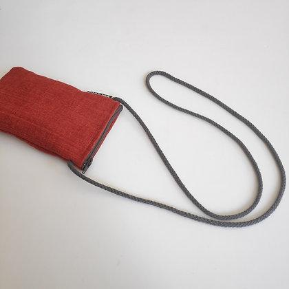 Funda para móvil (rojo coral)