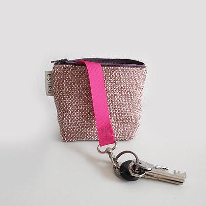 Llavero (rosa+lila) (crem 12 cm)