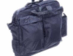 FOR93 Helmet Bag_Black_Double Pocket Sid
