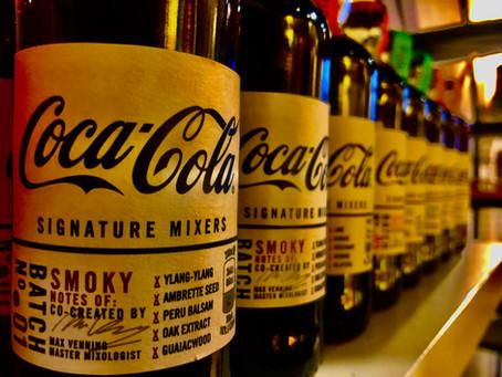 Coca-Cola signature mixers Te Koop!