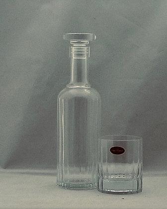 Bormioli Whiskyset met Karaf en 4 Whiskyglazen Bach