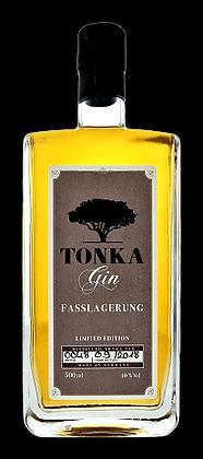 Tonka barrel aged gin Limited Edition