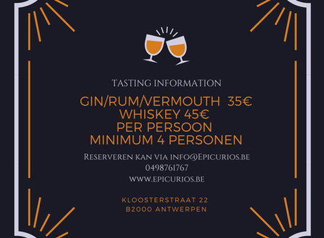Ontdek alle geheimen van Gin, Rum, Whisky & Vermout.
