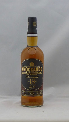 Knockando 18 years Single Malt