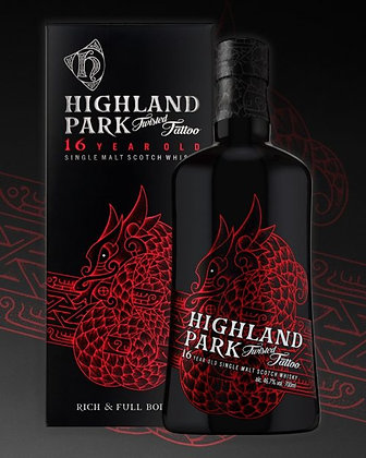 Highland Park 16y Old Twisted Tattoo limited edition