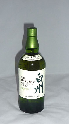 the Hakushu single malt