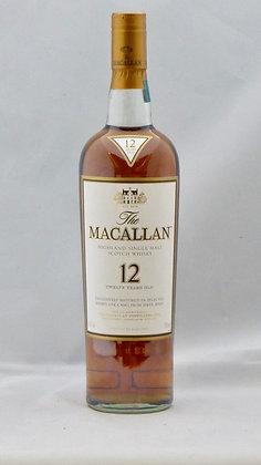 the Maccalan 12 years Cherry Cask Single Malt