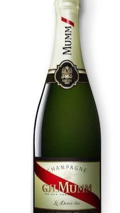 Champagne G.H.Mumm Demi Sec