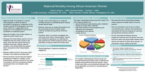 Maternal Health Poster - Fatima Jackson.