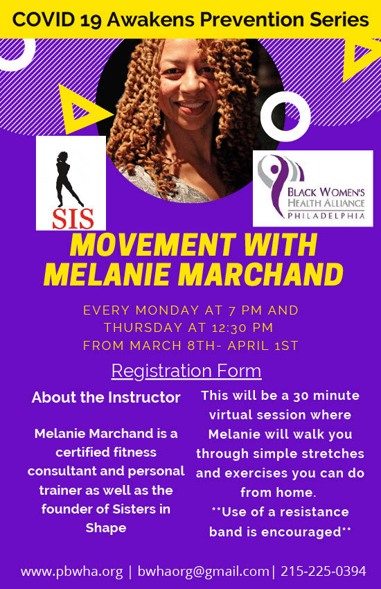 Movement with Melanie Marchand Flyer  3-