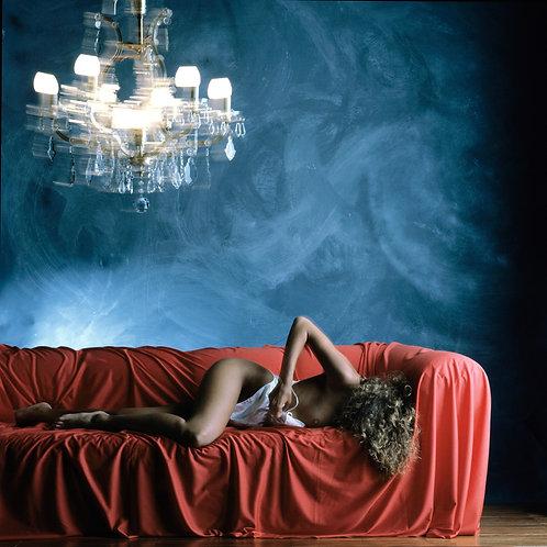 Sofa rouge et Kandelaber, 1990