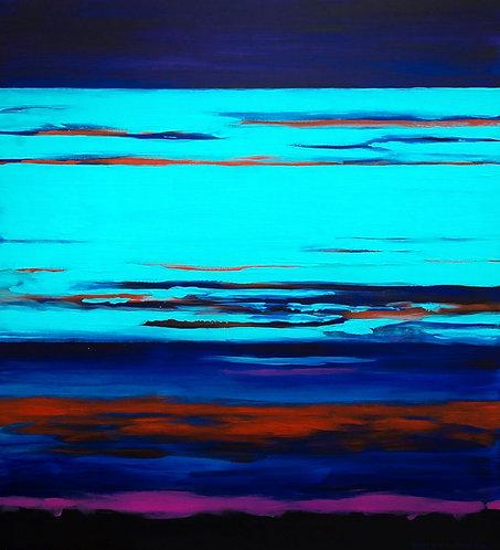 Kostya Koposov. The turquoise cloud, 2016