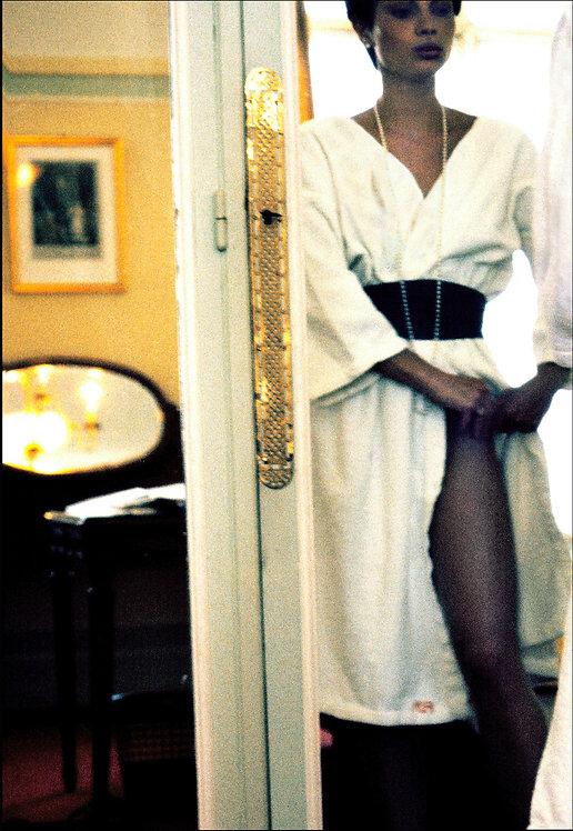 Casting au Royal Monceau. Paris, 1975