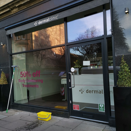 Shop Window Cleaning - Edinburgh