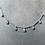 Thumbnail: Collier en argent et 7 zirconium