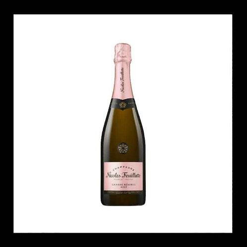 Champagne rosé Nicolas Feuillatte 75cl