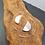 Thumbnail: Boucles d'oreilles demi-lune satinée
