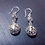 Thumbnail: Boucles d'oreilles en argent ajourées