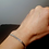 Thumbnail: Bracelet en argent maille miroir