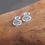 Thumbnail: Boucle d'oreilles spirales texturées