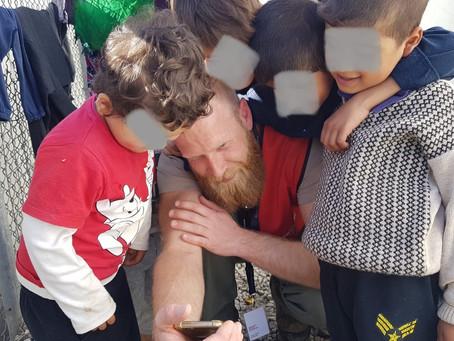 Missie 24 op Lesbos - Als een druppel