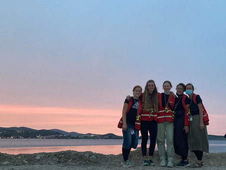 Prayers from the heart reached heaven   Blog from Lesvos