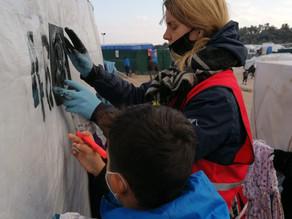 Een nieuwe blog vanaf Lesbos