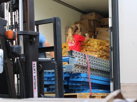 Trucks met hulpgoederen voor Lesbos en Athene veilig aangekomen!
