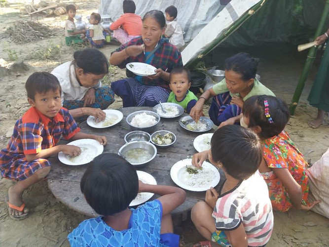 IDPs in Arakan
