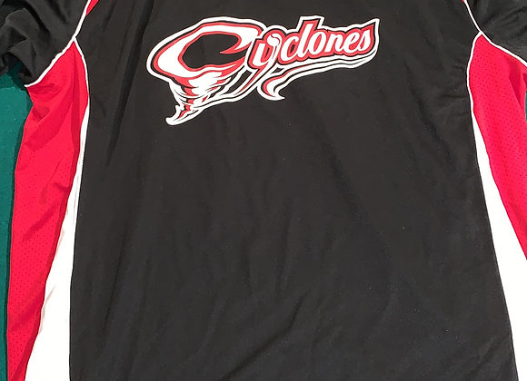 Cyclones Black/Red Jersey