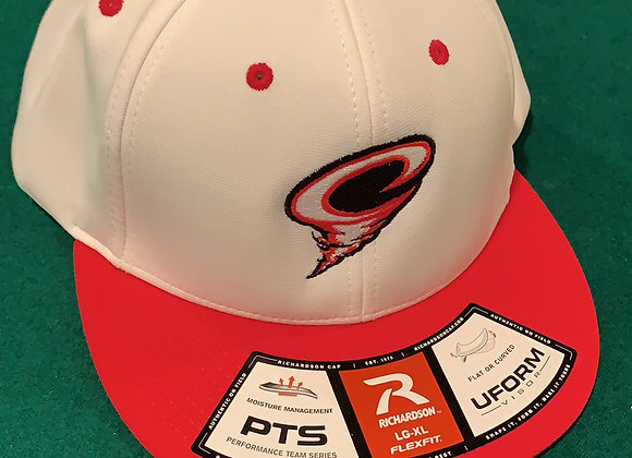 Cyclones Game Edition FlexFit Hat - White/Red