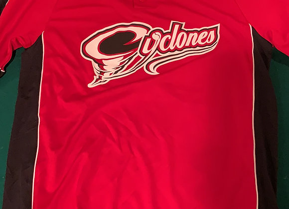 Cyclones Red/Black Jersey