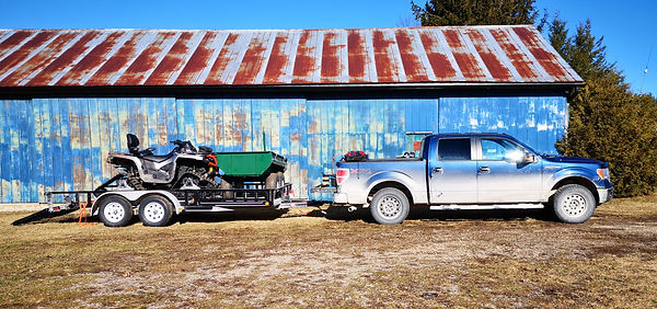 Truck & Trailer w_ ATV